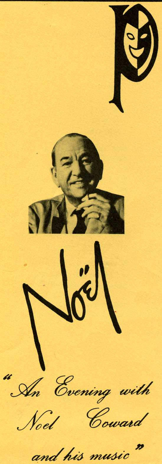 An Evening with Noel Coward and his Music
